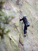 Rock Climbing Photo: Bean Fest attendee climbing a really fun route on ...