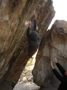 Rock Climbing Photo: ute v