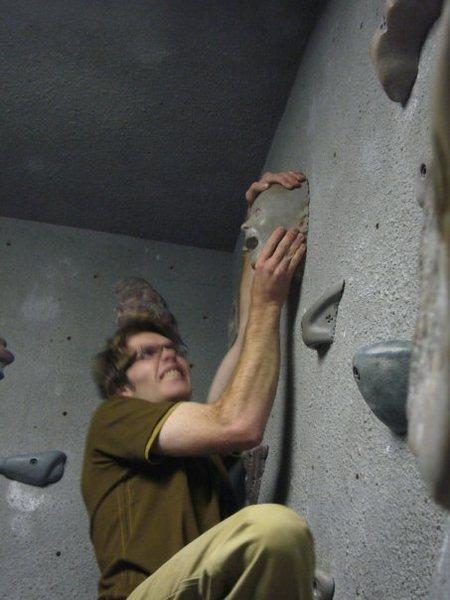Rock Climbing Photo: face hold?
