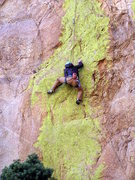 Rock Climbing Photo: Me on a cool 5.11 on Mutton Head