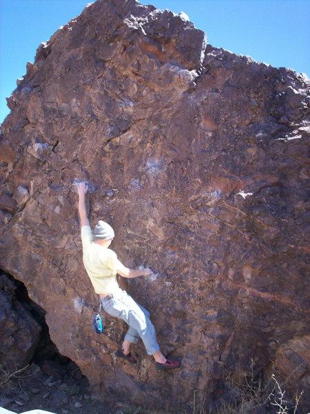 Rock Climbing Photo: Socorro bouldering