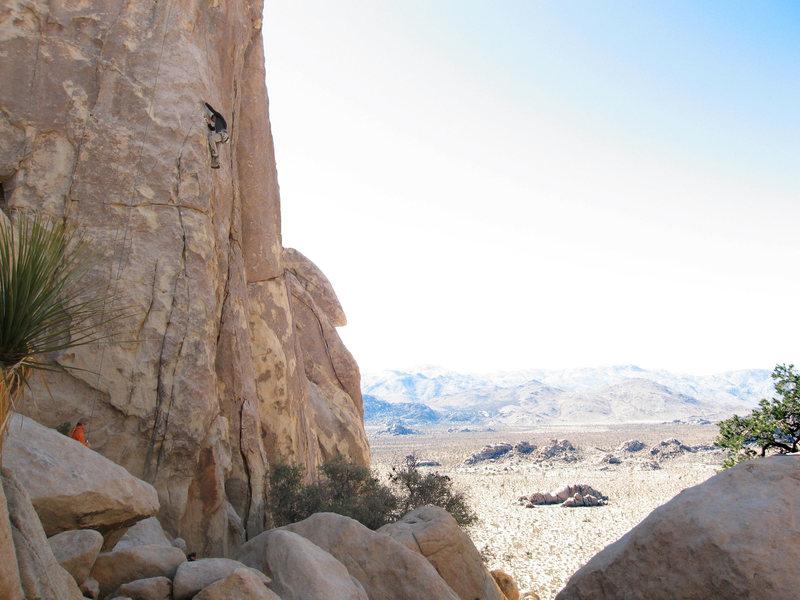 Rock Climbing Photo: Hidden Dome, Joshua Tree
