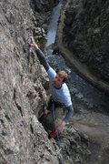 Rock Climbing Photo: Me at the fun finish.