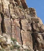 Rock Climbing Photo: Pinball Crack