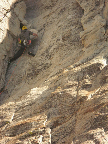 Rock Climbing Photo: Levi from San Diego on P1.