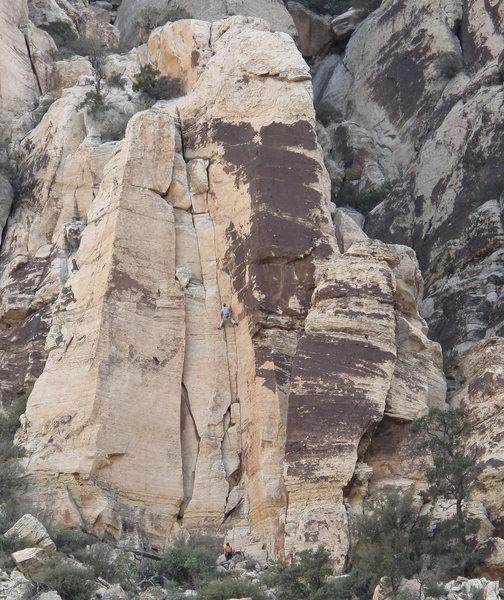 Climbers on Mudterm. 4/14/09