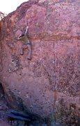 Rock Climbing Photo: 'T-Crack Left'