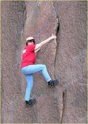 Rock Climbing Photo: my Mom, rockin' the house. Go Beverly!
