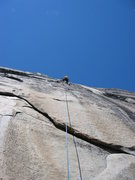 Rock Climbing Photo: Thin moves and lot's of smearing on the Tiger Wall...