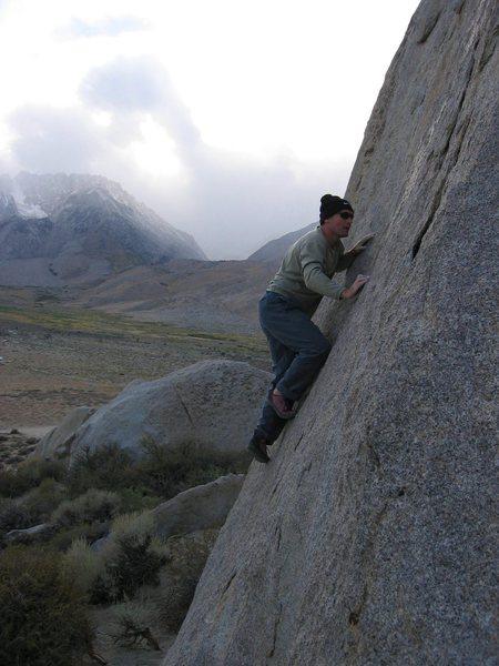 Rock Climbing Photo: Bouldering at Buttermilks, CA