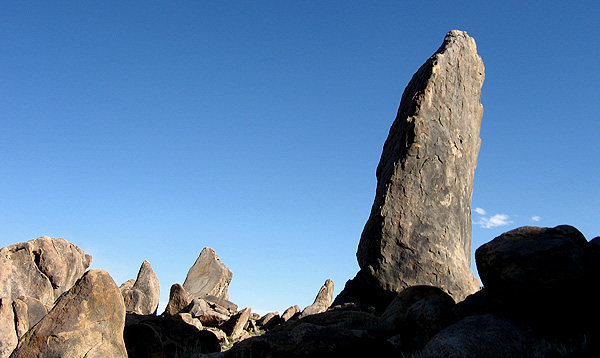 Rock Climbing Photo: The Burnt Penis. Hillbilly Pillar is seen to the l...
