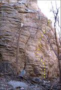 Rock Climbing Photo: Aftershock