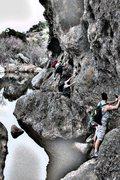 Rock Climbing Photo: Malibu Traverse