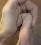Rock Climbing Photo: finger stretch