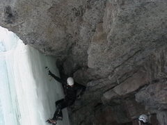 "Rock Climbing Photo: ""Zak, you don't have an ice screw."" &quo..."