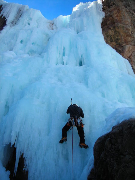 Fun stuff in Ouray Ice Park