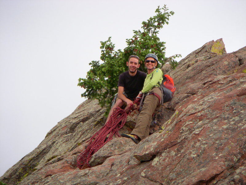 We met Dane & his mom June 2008 and criss crossed paths up Direct, sharing ropes for the rap to the deck.  One of the best days of climbing ever.