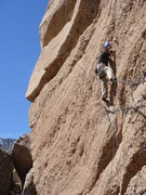 Rock Climbing Photo: Jerry Miller leading Bronco Billy.