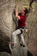 Rock Climbing Photo: Ryan Cantor, same route, no name.