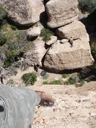 Rock Climbing Photo: Looking back down the aggregate on a beautiful Sun...