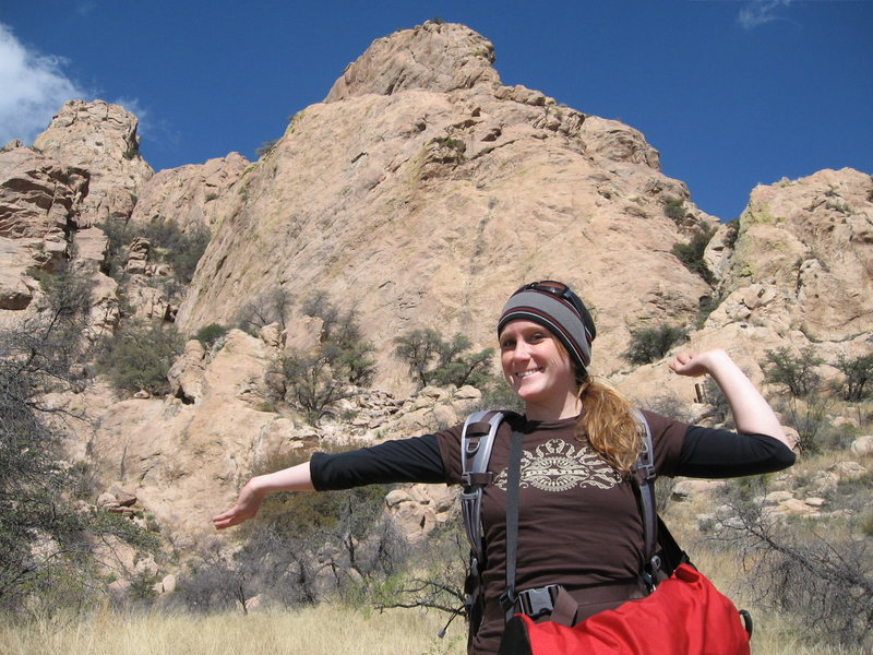 Rock Climbing Photo: Trad rock