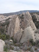 Rock Climbing Photo: The climbing slabs of the South area.