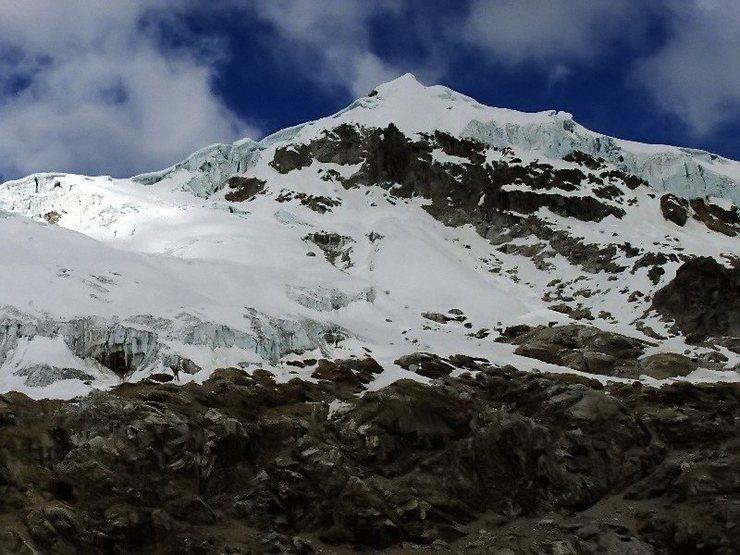 Rock Climbing Photo: Ishinca, 5530 meters.