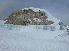 Rock Climbing Photo: Last bit to the summit from the near the base of t...