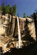 Rock Climbing Photo: Vernal Falls, 2002 or so.