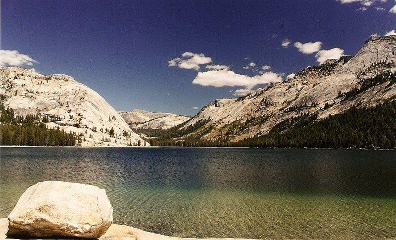 Beautiful Tenaya Lake, 2002 or so.