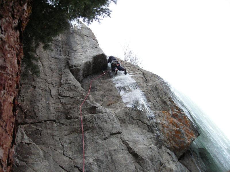 Rock Climbing Photo: M5 conditions.