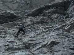 Rock Climbing Photo: Amphibian, P1.