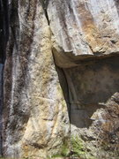 Rock Climbing Photo: The business section of the Crack in the Woods.