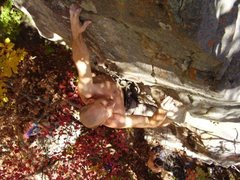 Rock Climbing Photo: Mark Mobley on Don't Stretch It