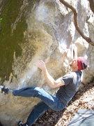 Rock Climbing Photo: Rhoads, on it!