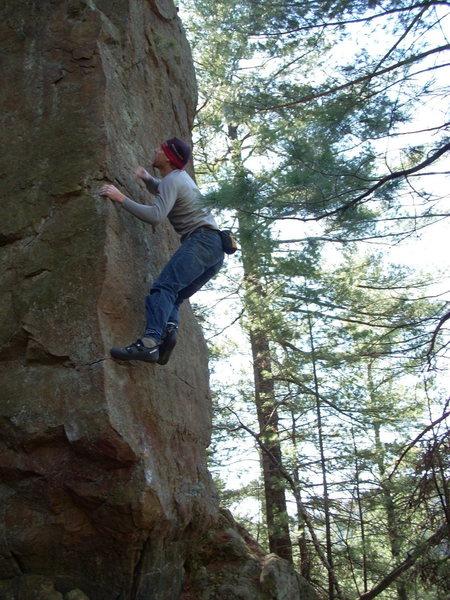 Rock Climbing Photo: Next move....