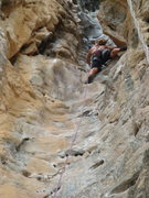 Rock Climbing Photo: The Groove Tube...classic at Tonsai Beach, Thailan...