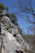 Rock Climbing Photo: cool shot that you can see how long the route is.....