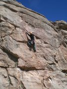 Rock Climbing Photo: Eric Ruljancich on the FA of Making Love for Two M...