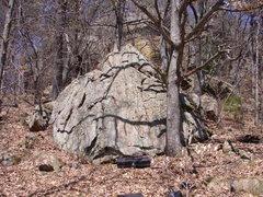 Rock Climbing Photo: Oak Tree Boulder