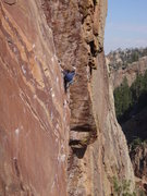 Rock Climbing Photo: This guy moved with such grace I had to take a cou...