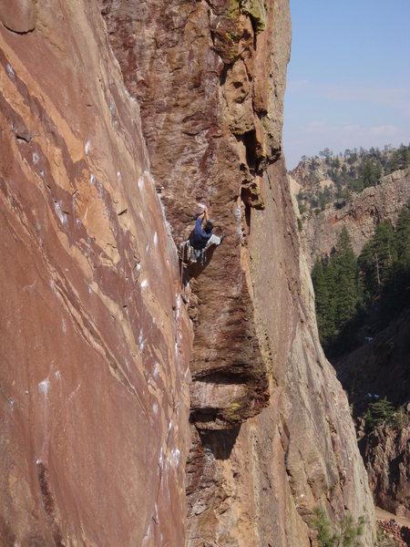 Rock Climbing Photo: 4/10/09 2-4