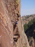 Rock Climbing Photo: 4/10/09. 3-4.
