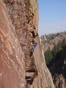 Rock Climbing Photo: 4/10/09. 4-4.