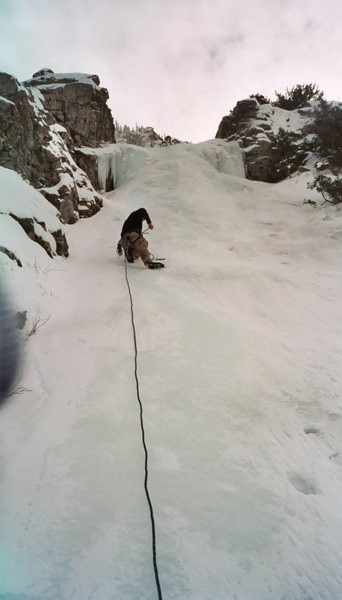 Rock Climbing Photo: Ice Climbing, I think this is 3 Teirs up in Office...