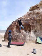 Rock Climbing Photo: South west side of the cow showing several of the ...