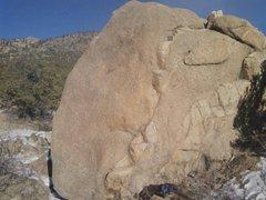 Rock Climbing Photo: Still sleeping heads up the vertical vein. Not wak...