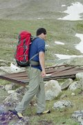 Rock Climbing Photo: Hiking in to attempt the East Ridge of Mt. Bancrof...