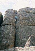 Rock Climbing Photo: Bret leading Mother 1