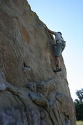 Rock Climbing Photo: Nathan Fitzhugh on Boulder 1